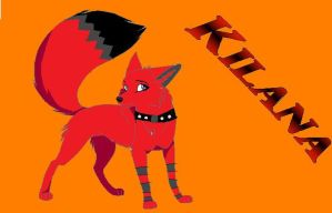 Full Fox form :Kilana by NightFurry14