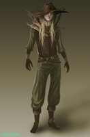 character concept by vegarBlack