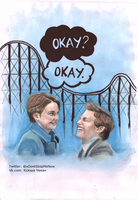 A roller coaster that only goes up by KseniyaART