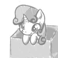 Playing in a box by Pikkinon
