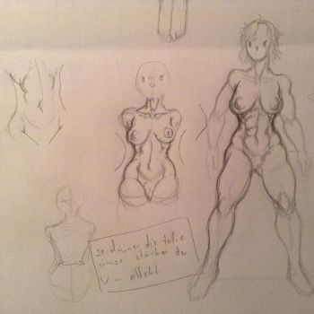 Part two of experimenting with bodies by Chiusan