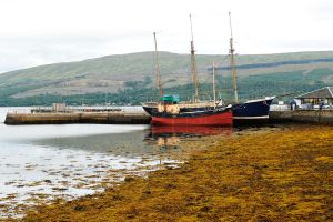 At dock in Inveraray 2 by wildplaces