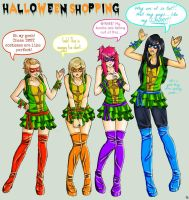 AL3X: Halloween Shopping by Blakmyre