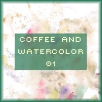 Coffee and watercolor 01 by FancyOctopusResource