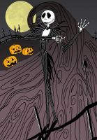 Jack Skellington by TovarasNightroad