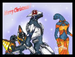Halo: Merry Christmas by RazyMymi