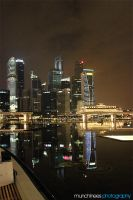 Singapore Skyline by munchinees