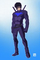 Young Justice - Nightwing by kawoXD