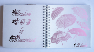 Brushset C03, Umbrellas by Missverstand