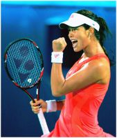 Ana Ivanovic_Dubai by leftysrock