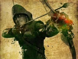 Paint a DC Character: The Arrow by DeiNyght