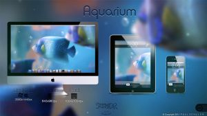 Aquarium Wallpaper by Schulerr