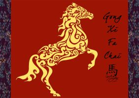 Year of the Horse by tehKOTAK