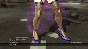 Anna Williams stockings by Francision