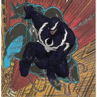 WoS Venom 3D swing pose by OrionSTARB0Y