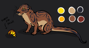 Otter design by Rinermai