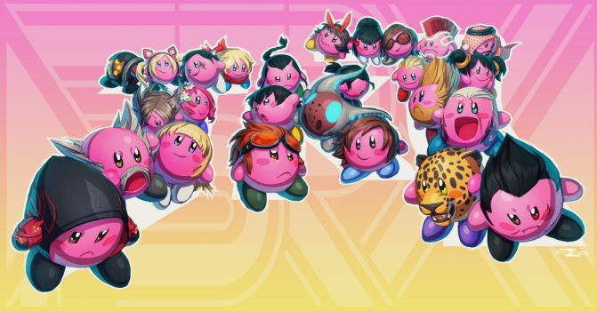 Tekken + Kirby (FSRX 24) by ZedEdge