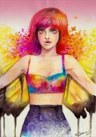 Hayley Williams by rianbowart