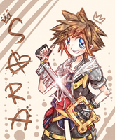 KH - Sora by peachmomo