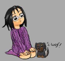 Me and Molly by roze-hip-zero