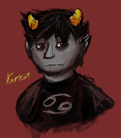 Speedpaint: Karkat by Kitsumon