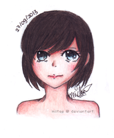 Potrait of a Girl by Miitee