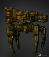 Painting Test: Robot 2 by Osmar-Shotgun