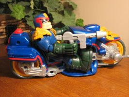 judge dredd and bike pic2 by ebooze