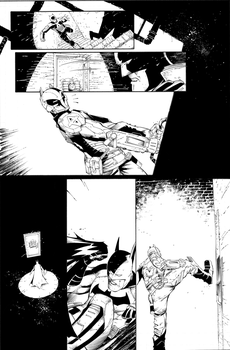 Batman AK Page 22 by aethibert