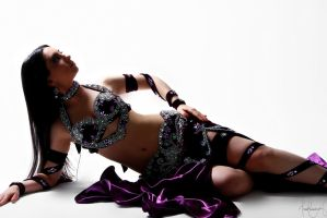 Purple Belly Dance Stock 02 by LoryenZeytin