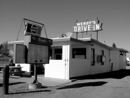 Wendys Drive In by lonnietaylor