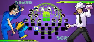 Homestuck The Game God Tier John VS Dad by Video320