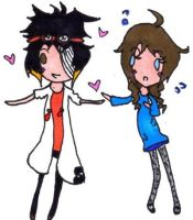 UH Couples: Tony + Nimue by Tesuway-chan