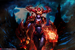 Shyvana by LeagueOfLegendsWallp