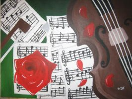Violin's Melody by brooke1110