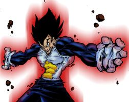 Vegeta by MechaSoldier