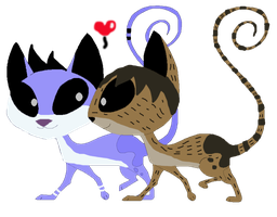 Morby kats x3 by LittleThingsCxD