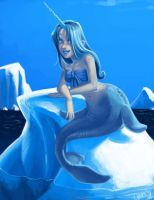 Narwal Mermaid by Oniwolf12