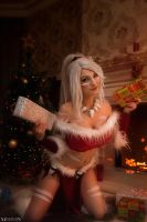 LOL - Christmas - Nidalee by MilliganVick