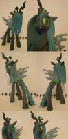 3D Printed Chrysalis Statuette by Calistomaniac