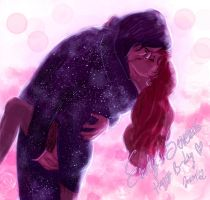 Emily + Severus: You're my shining star by Fidi-s-Art