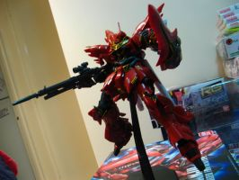 HG MSN-06S Sinanju Ova Version by RiderB0y