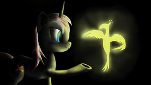 Bird of song and bird of flame by klystron2010