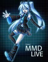 Project MMD LIVE Miku by lawlietlk