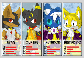 Select Your Character! POKKEN! by DestinyFox