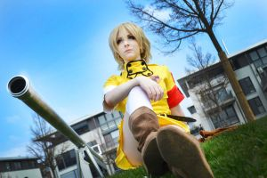 Hellsing: Seras by PineapplePandah