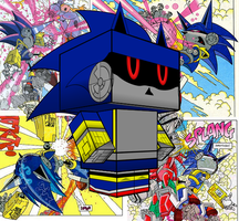 Mecha Sonic Roboticized Cubee by mikeyplater