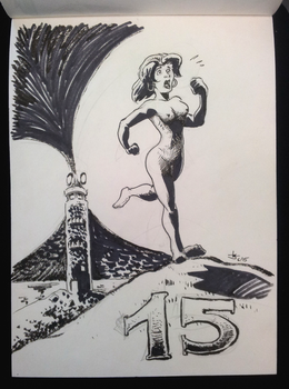 Kitty Pryde Comicfestival sketch by Abt-Nihil