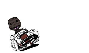 Little Big Planet Karting shirt contest entry by badcop69