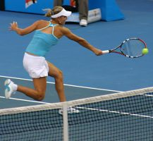 Elena's backhand by aaronactive